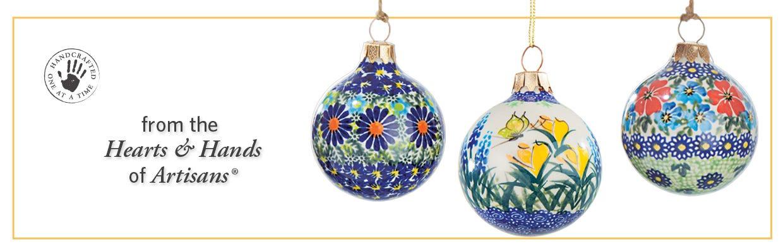 Polish pottery ornaments handmade christmas ornaments uno alla volta ornaments solutioingenieria Gallery