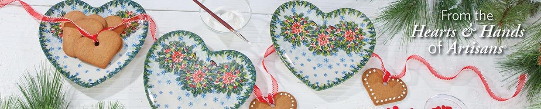 Christmas Polish Pottery Patterns