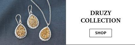 Avi's Druzy Jewelry Collection | Uno Alla Volta